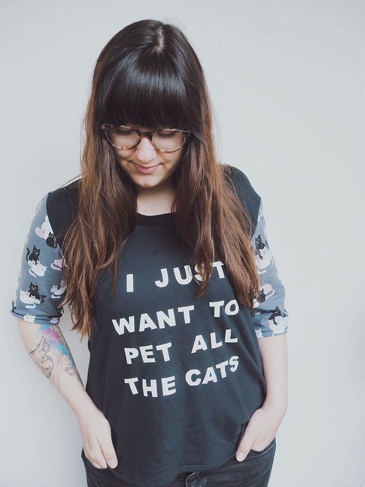 "KuneCoco • #naehdirwas April • ""I just want to pet all the cats"" Shirt"