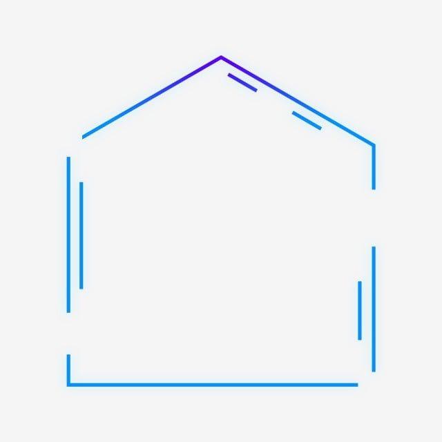 بابوا غينيا الجديدة الحرة مشبك أزرق اللون البنفسجي تكنولوجيا التدرج توهج خارجي هندسي خماسي الحدود جولة الحدود الهندسية الشعور التكنولوجي تقنية عالية حدود الت Gradient Color Blue Violet Geometric
