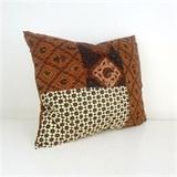 SH Batik Pillow Brown