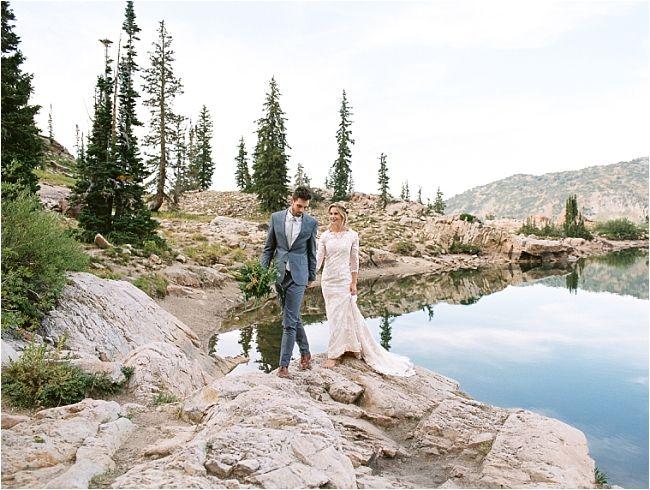 Becca + Stetson: Mountain Groomals | utahbrideblog.com