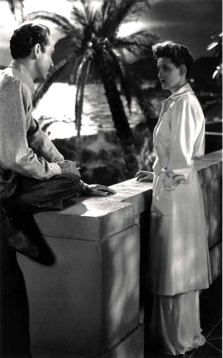 Paul Henreid and Bette Davis - NOW, VOYAGER