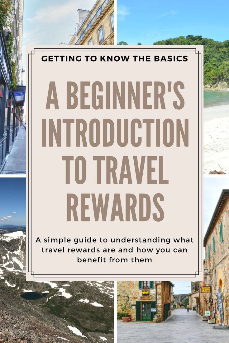 Getting Started: a beginner's guide to learning about travel rewards, including how you can use them to get cheap flights and free hotel stays