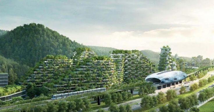Κίνα: Σχεδιάζουν οικολογικές ''πόλεις-δάση'' (ΦΩΤΟ) #ΤΕΧΝΟΛΟΓΙΑ