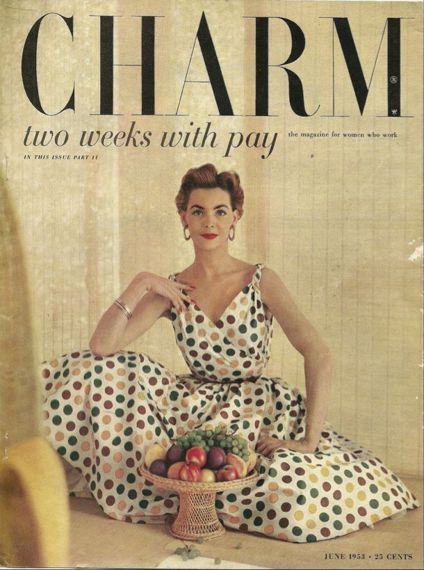 Charm, June 1953.