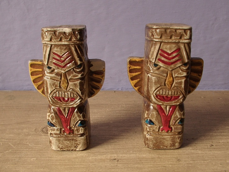 Native American Indian Decorative Items | Shaker Set, Native American  Indian Totems, Vintage Western Decor ... | Native Tongue | Pinterest |  Pepper, ...
