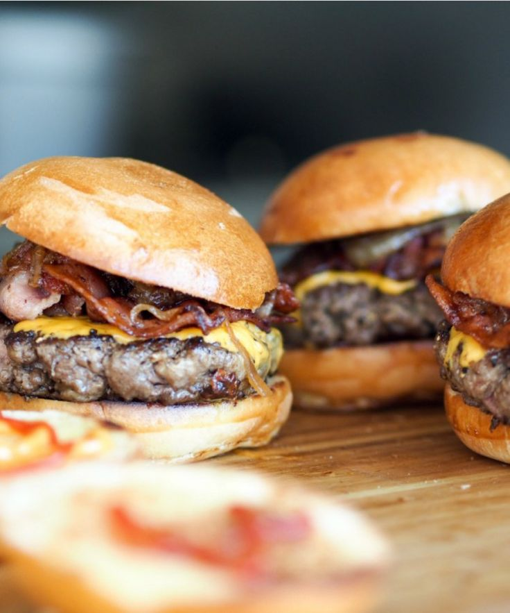 ⭐Triple Flavor Hamburgers!!! These are the best BBQ burgers yet!