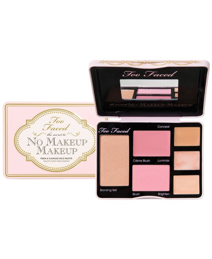 Too Faced The Secret To No Makeup Makeup Fresh U0026 Flawless Face Palette - Gifts U0026 Value Sets ...