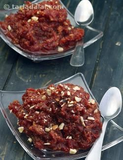 Bottle Gourd, Carrot and Beetroot Halwa, Microwave Recipe recipe | by Tarla Dalal | Tarladalal.com | #35098