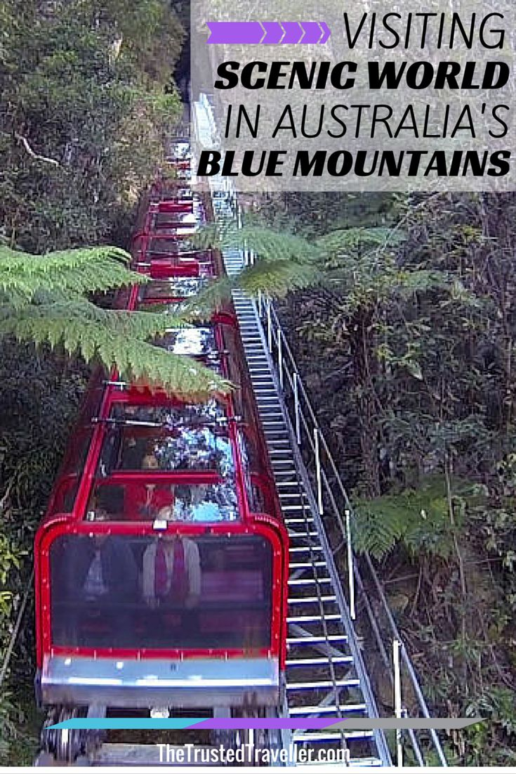 Visiting Scenic World in Australia's Blue Mountains - The Trusted Traveller