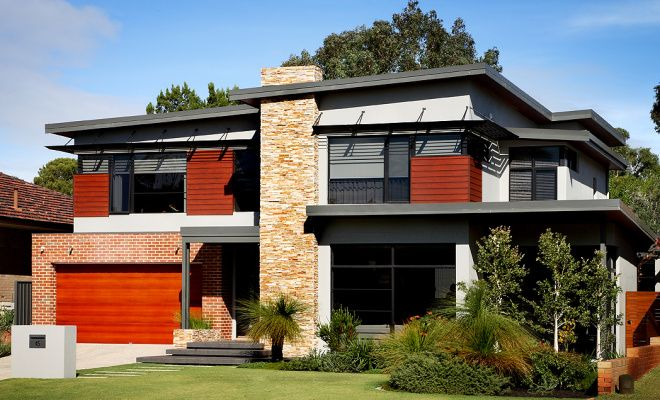 luxury two storey home design perth artique homes roof