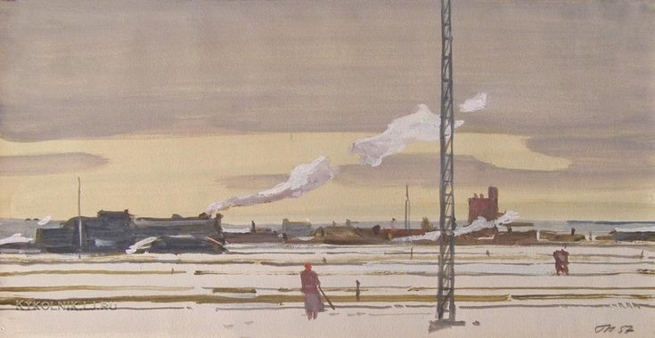 Георгий Нисский - «Станция сортировочная Ховрино», 1957