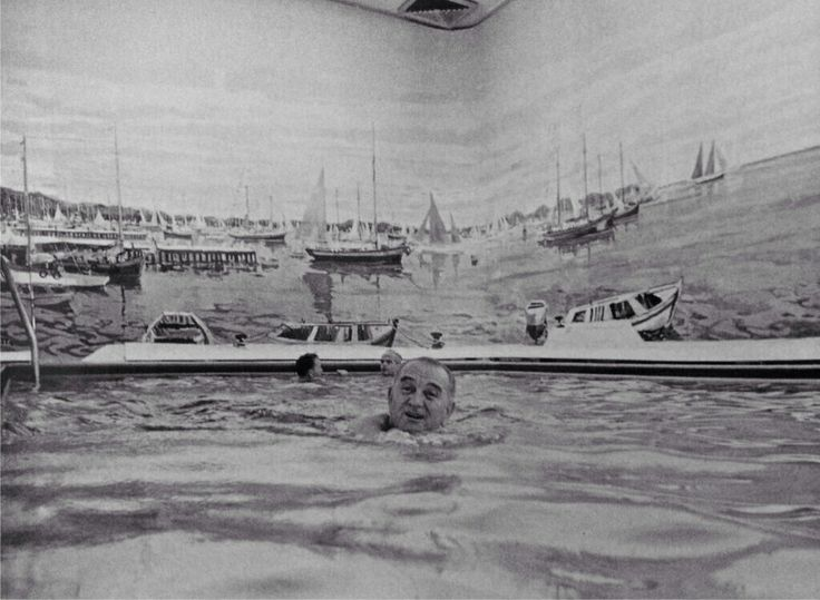 Lbj Swimming In The White House Pool History Pinterest