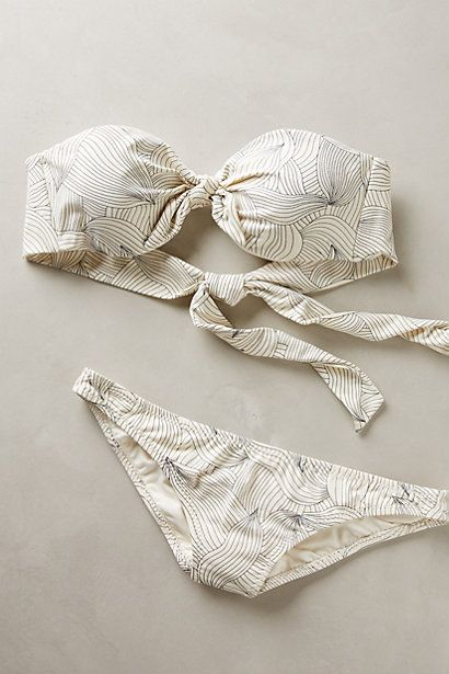 Eberjey Sylvan Bandeau Top - anthropologie.com #anthrofave