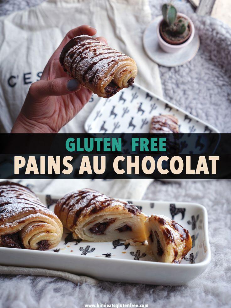 Easy Gluten Free Pain au Chocolat Recipe | Chocolatines