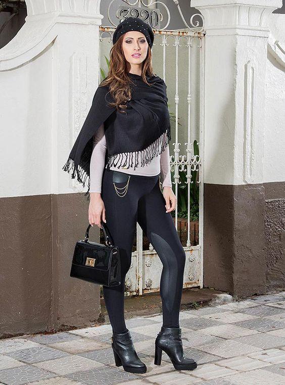 Looks com Legging: Como Usar Desde o Dia até à Noite em 2020 | Fashion, Style, Leggings