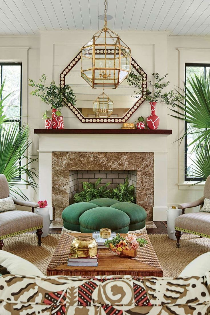 495 best living family rooms images on pinterest living spaces our dream beach house step inside the 2017 southern living idea house
