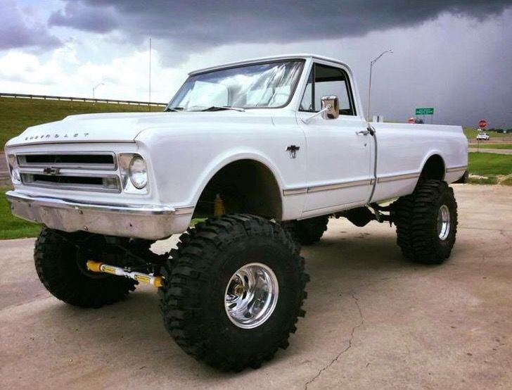 big lifted chevy trucks - photo #28