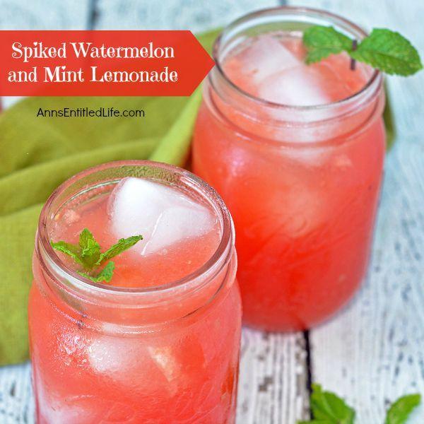 about Spiked Watermelon on Pinterest | Watermelon Lemonade, Lemonade ...