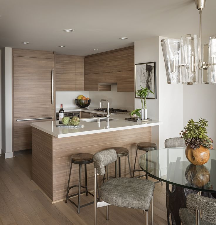 Handsome High Rise   Small condo kitchen, Living room ...