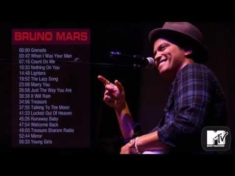 Bruno Mars's greatest hits || Best songs of Bruno Mars - YouTube