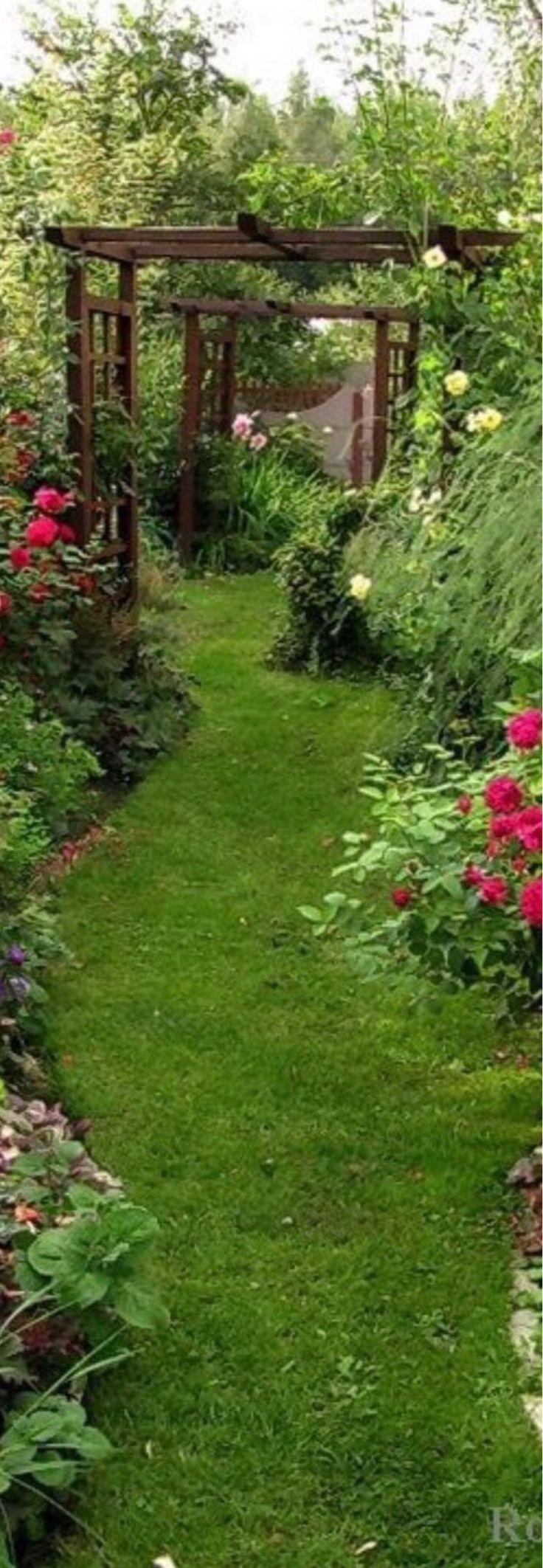 #Garden Path Ideas #gardendesign #gardening