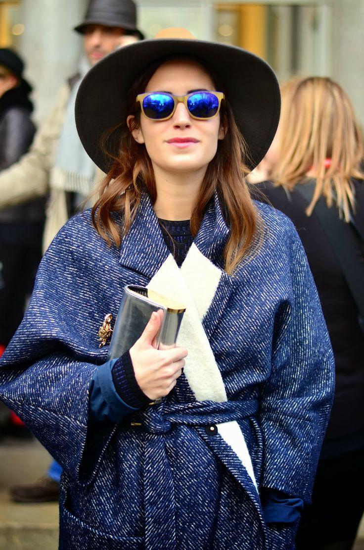 #StreetStyle // #MFW // Milan Fashion Week Febrero 2014 #GalaGonzález