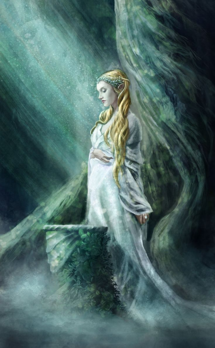 Галадриэль   The Mirror Of Galadriel by Holmes-JA on DeviantArt