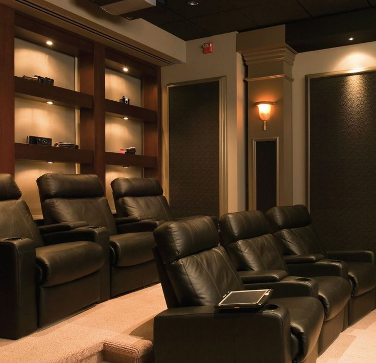 Bright Ideas in 2020   Home theater rooms, Small home ...