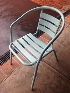 Set of six soft blue indoor outdoor chairs | Dining Chairs | Gumtree Australia Monash Area - Chadstone | 1133798171