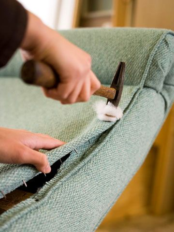 If you have basic sewing skills, you can master these common upholstering techniques.