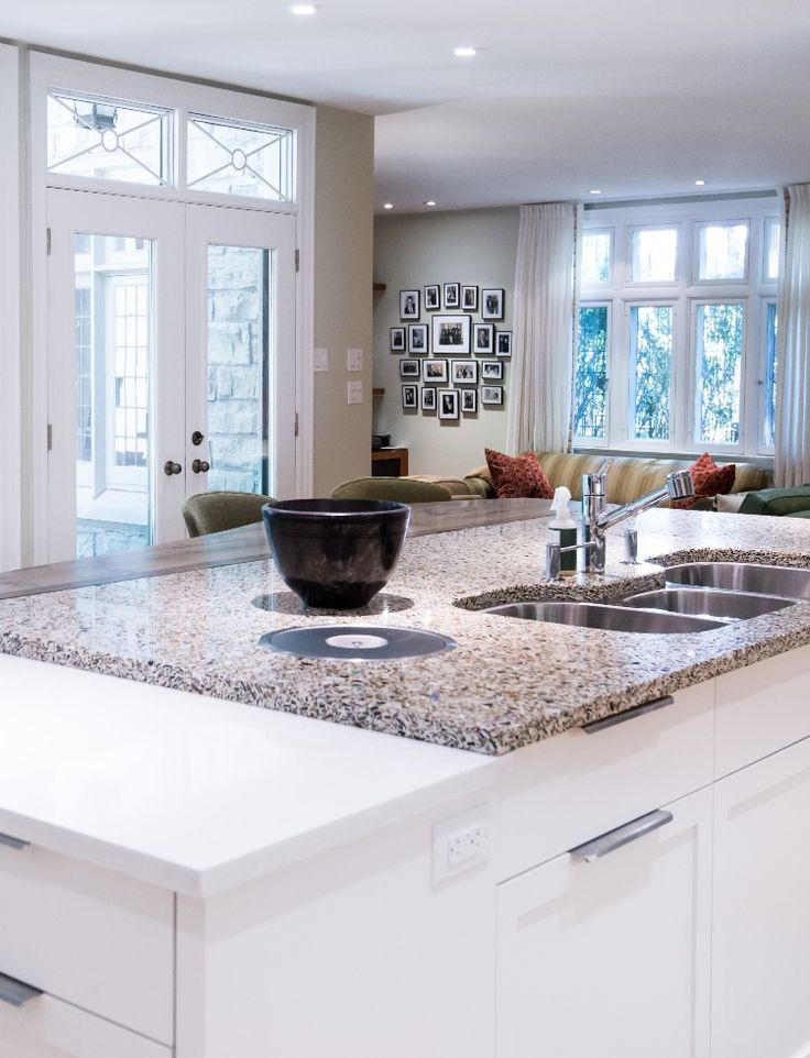 Genial Alehouse Amber Vetrazzo Countertops Set The Stage For The Rest Of This  Toronto Remodel.