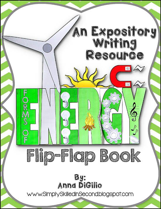 Have some F.U.N. while learning about Forms of ENERGY! This expository writing resource will compliment your different lessons on Energy and/or will serve as a wonderful authentic assessment of their knowledge on ENERGY!$