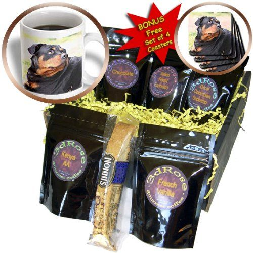 Dogs Rottweiler  Rottweiler  Coffee Gift Baskets  Coffee Gift Basket cgb_4370_1 * Find out more by clicking the VISIT button