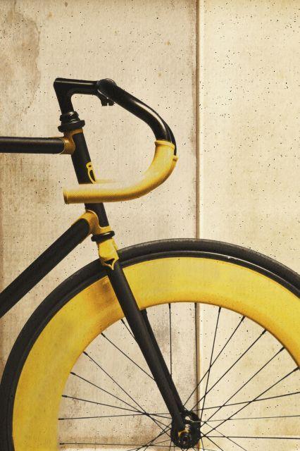 Poster - Bike Amarela