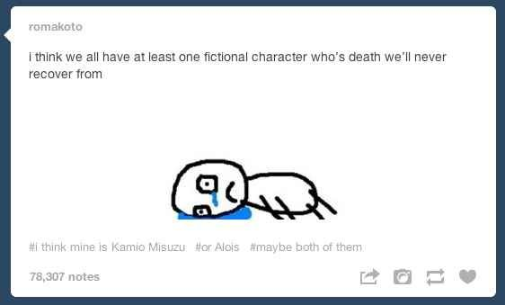 Because we all need a community to mourn with. | 27 Reasons Literary Nerds Will Love Tumblr