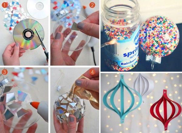 Daddy Cool!: 30 απίθανες ιδέες για να κατασκευάσετε μονοι σας φετος τα Χριστουγεννιάτικα στολίδια