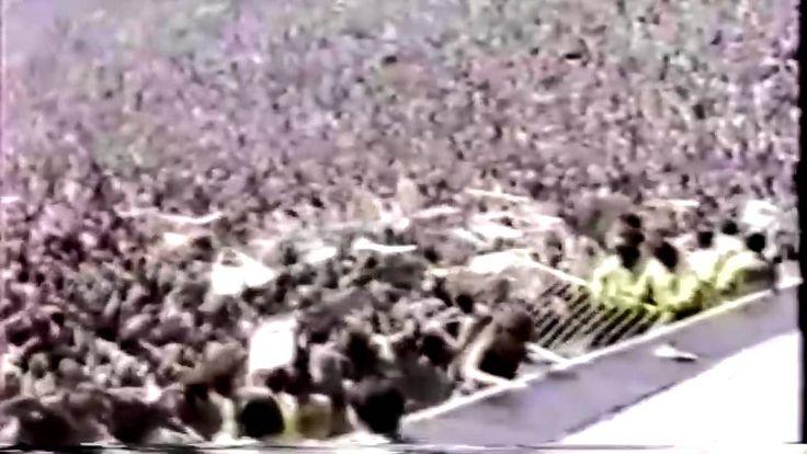 Metallica - riot at Metallica concert - Monsters Of Rock - 24-07-1988