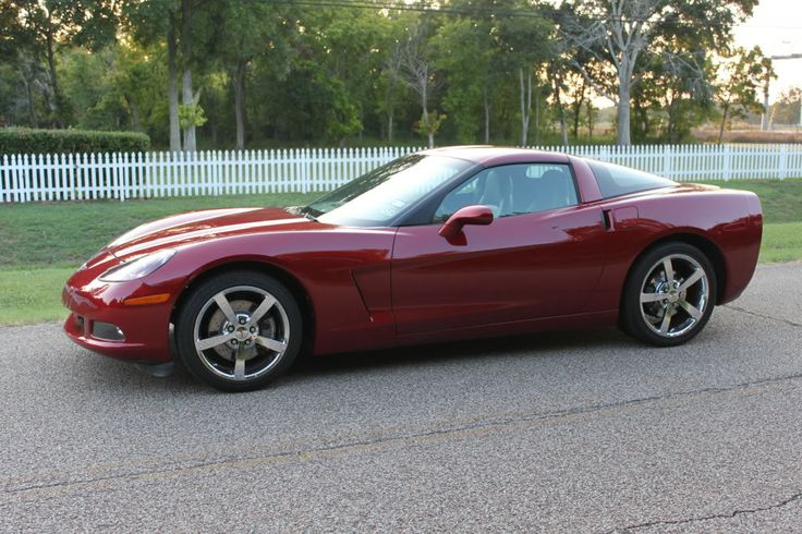2008 Crystal Red Corvette - 5,420 units