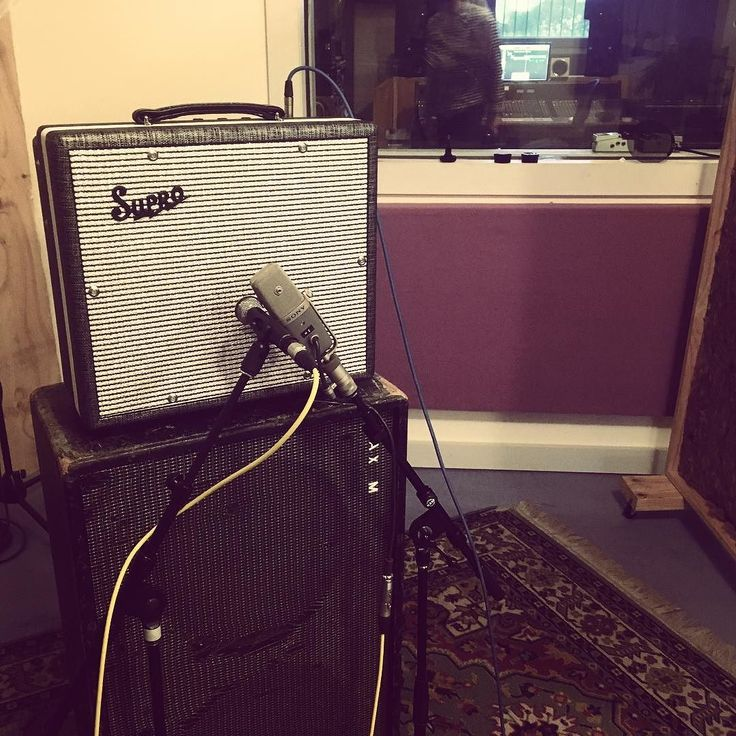 Half a day tracking some guitars for #adalita's new record at @phaedrastudios  with John Lee. #Supro #Supreme1600 did the trick!