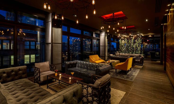 Set twenty stories above Manhattan, Gansevoort Park Rooftop is a skyhigh oasis offering six distinct venues with unhindered views of the Empire State Building and other iconic New York architecture. Unique features include a rooftop pool, indoor and outdo...