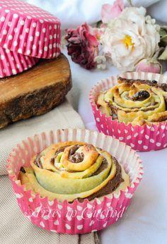 Rose di frolla alla nutella ricetta dolce facile vickyart arte in cucina