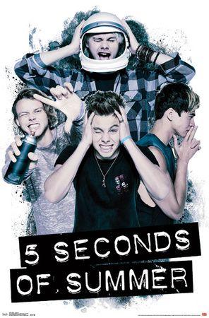 5sos Headache Poster