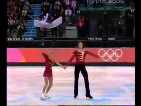 Tatiana Totmianina Maxim Marinin Torino Olympics 2006 LP Romeo Juliet by Edvin Marton - YouTube