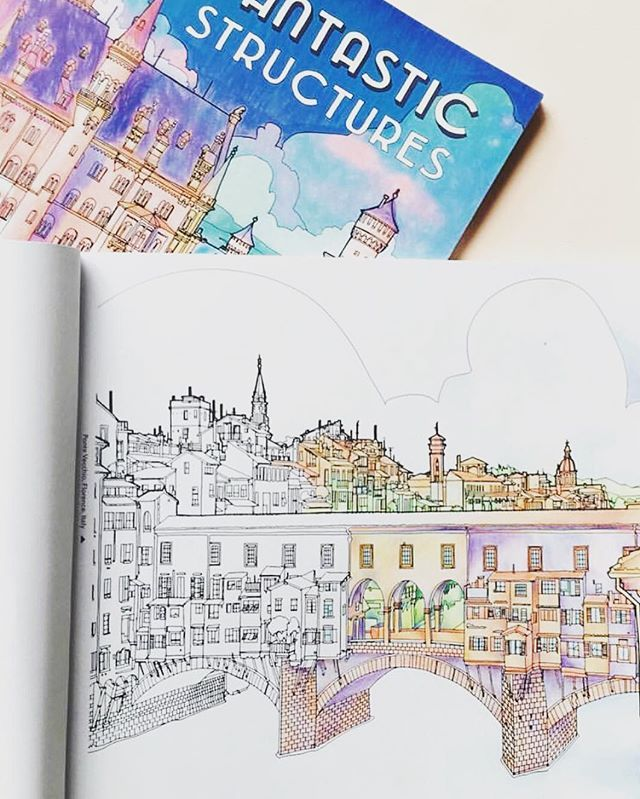 Coloring Book Of Architecture Around The World