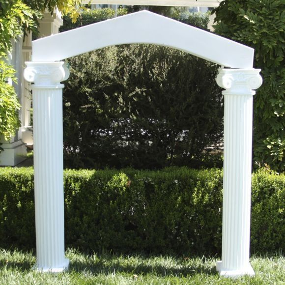 Wedding Arches With Columns Arch Amico Mayko April In 2018 Pinterest Reception Decorations And
