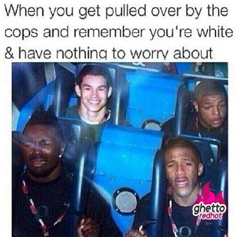 White boy got no problems