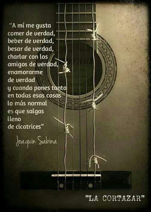 Joaquin Sabina.
