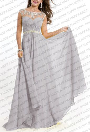 Crew-Prom-Bridesmaid-Dresses-Formal-Evening-Dress-Crystals-beads-Size-6-18