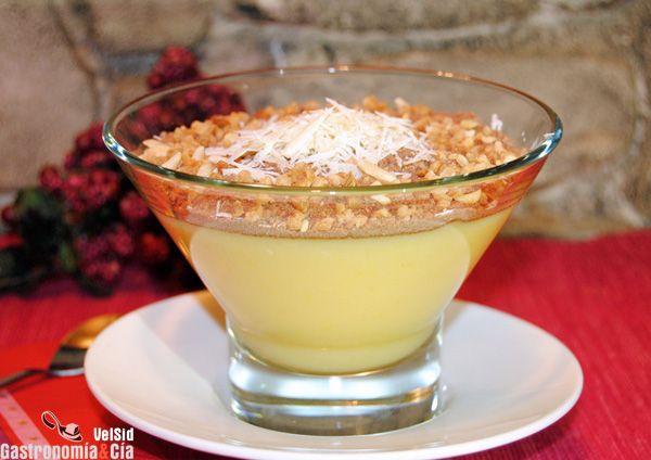 Pudin de naranja cremoso con polvo de especias | Gastronomía & Cía