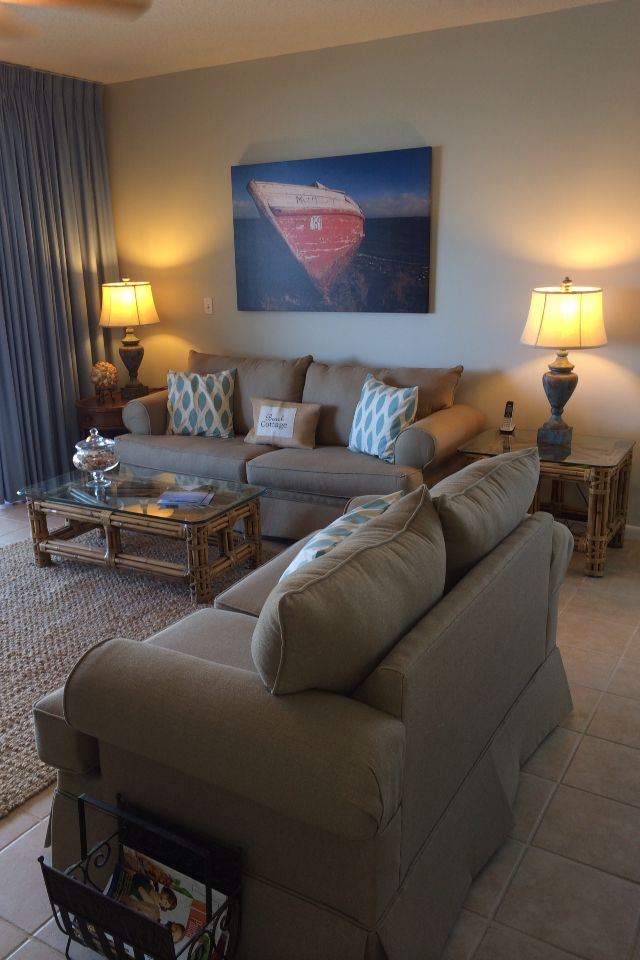 Living Room Condo Decorating: 17 Best Images About Our Beach Condo Vrbo #511714 High